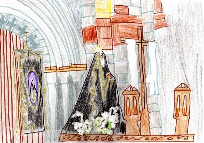 Resultado de imagen de dibujo semana santa