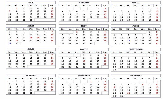 Calendario 2019 Castilla Y Leon.Calendario Laboral En Benavente Para El 2019 Las Noticias De