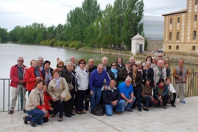 Baños Arabes Tordesillas:aprendieron en la excursión al Canal de Castilla y Tordesillas