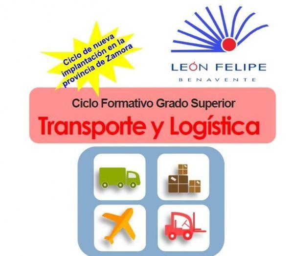 Transporte Y Logística Nuevo Ciclo De Fp De Grado Superior