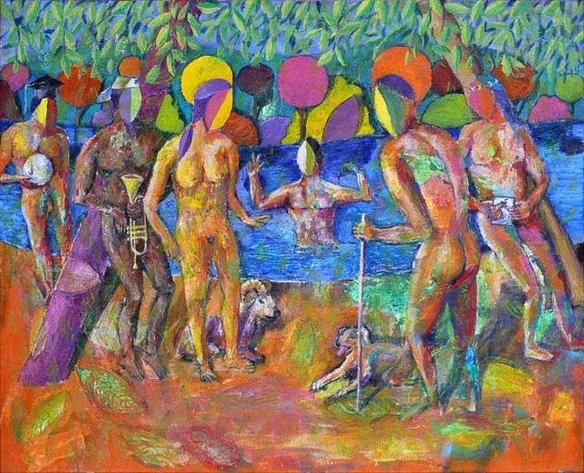 Resultado de imagen de J. Félix Lorenzo bañistas